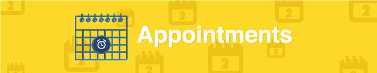 image denoting the Appointments section